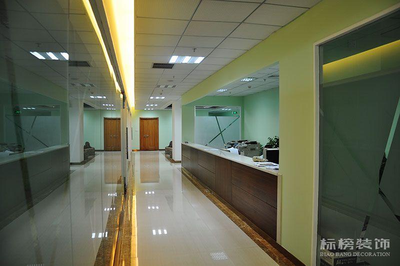 一品轩总部办公室和厂房装修9