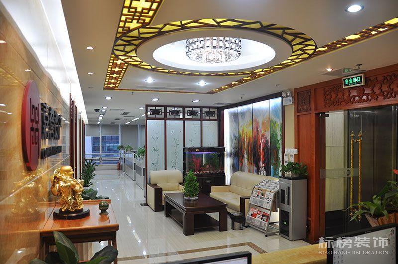 财富大厦嘉誉资产公司办公室装修2