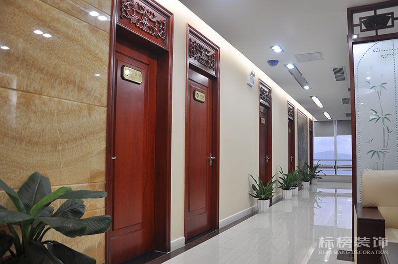 财富大厦嘉誉资产公司办公室装修4