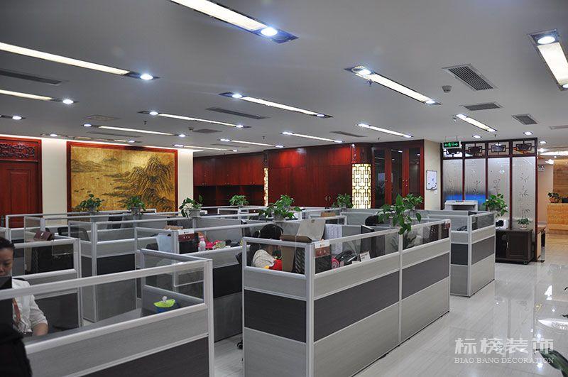 财富大厦嘉誉资产公司办公室装修5