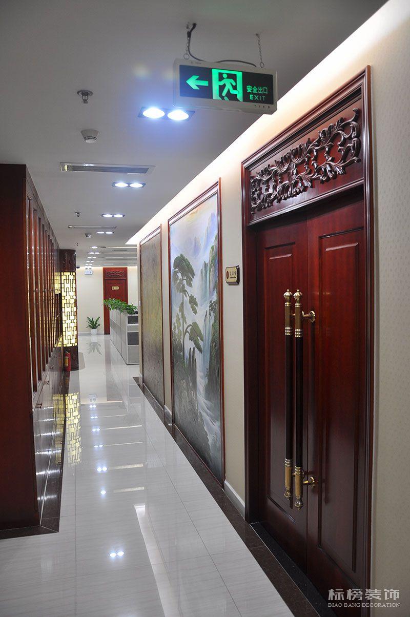 财富大厦嘉誉资产公司办公室装修7