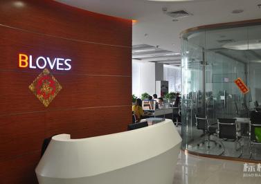 南山-汉京国际大厦-彼爱钻石BLOVES办公室装修