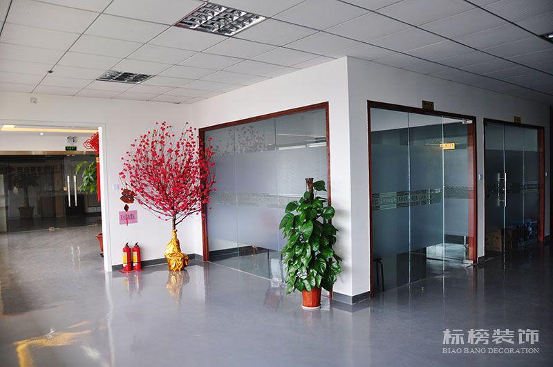 龙华观澜松盛科技办公室和厂房装修2