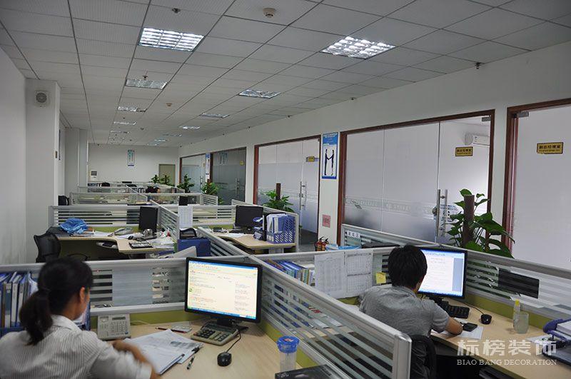 龙华观澜松盛科技办公室和厂房装修3