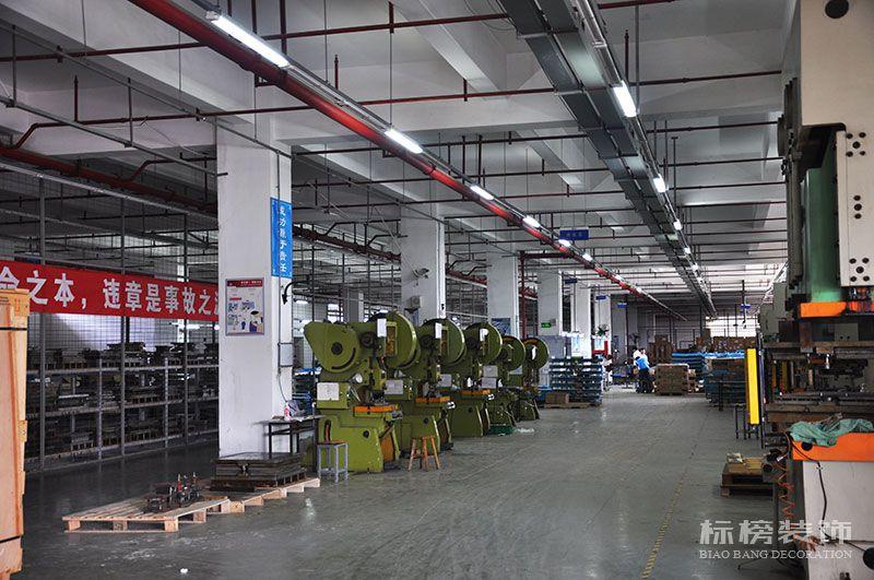 龙华观澜松盛科技办公室和厂房装修4