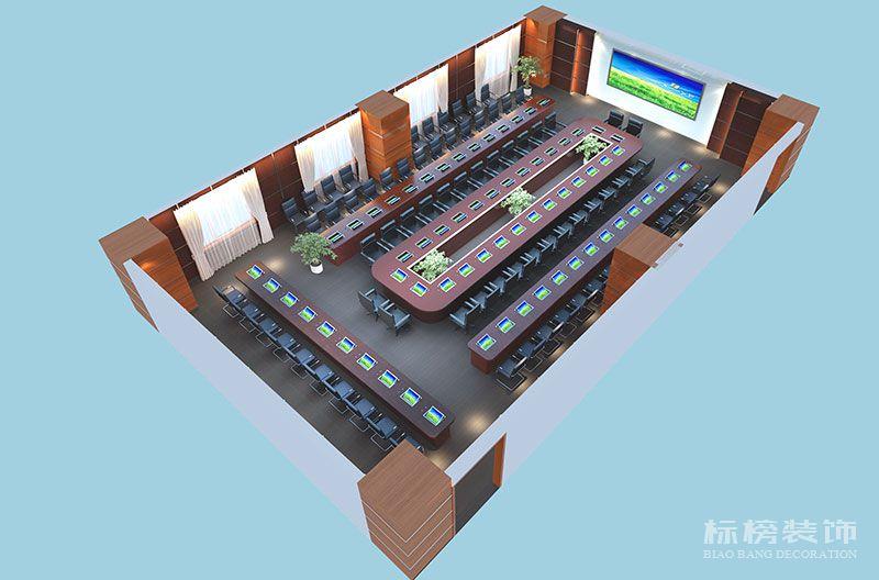 罗湖区委会议室装修5