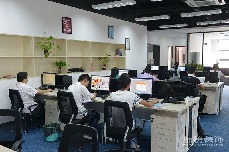 南山区TCL产业园思珀锐激光办公室装修2