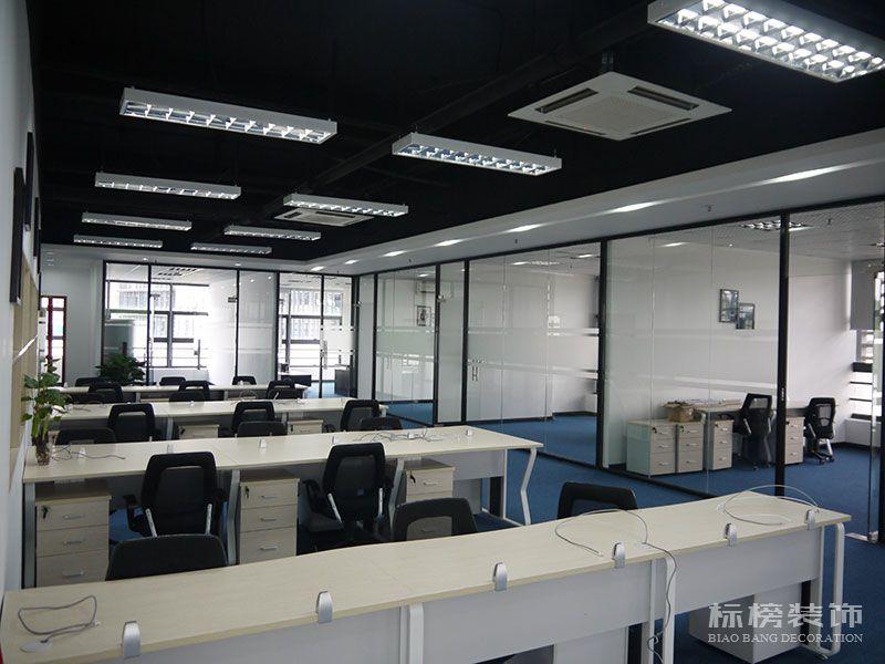 南山区TCL产业园思珀锐激光办公室装修5