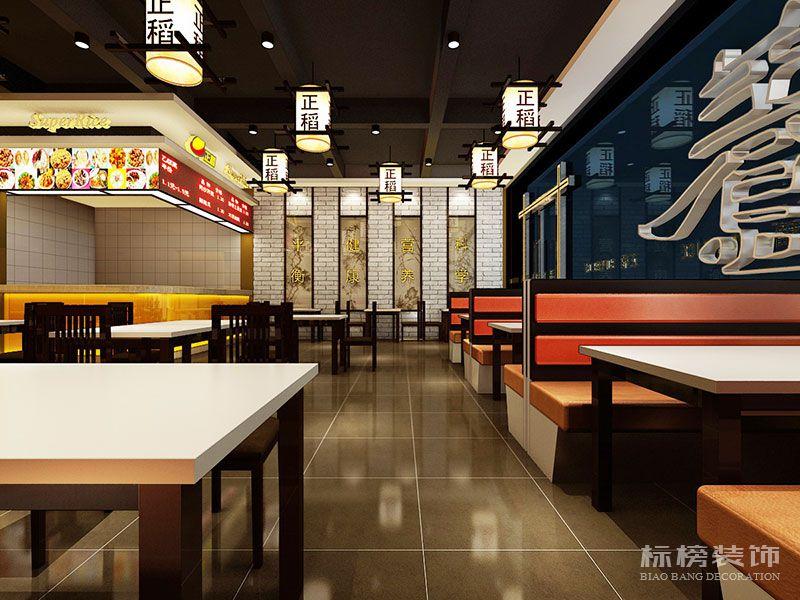 深圳正稻餐厅装修2