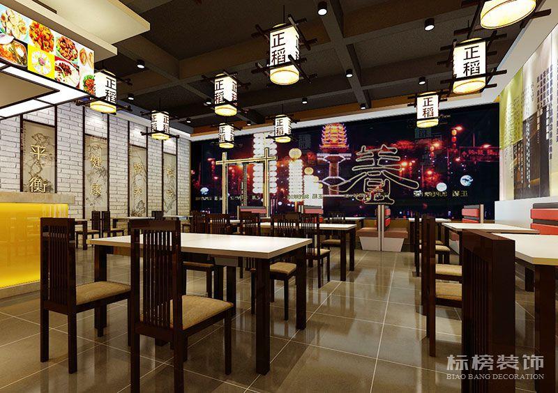 深圳正稻餐厅装修3