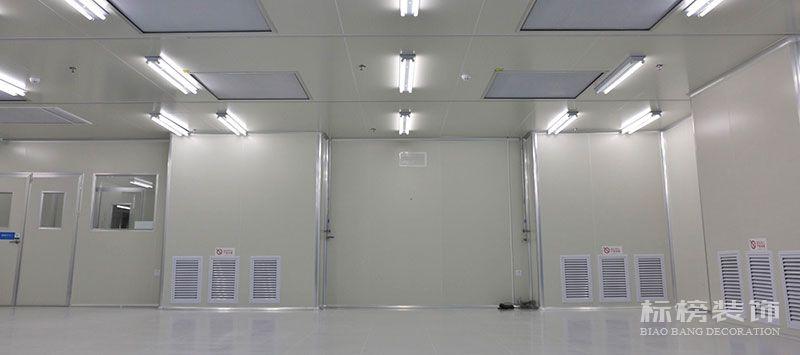 亿诺威波光电无尘车间、厂房装修3