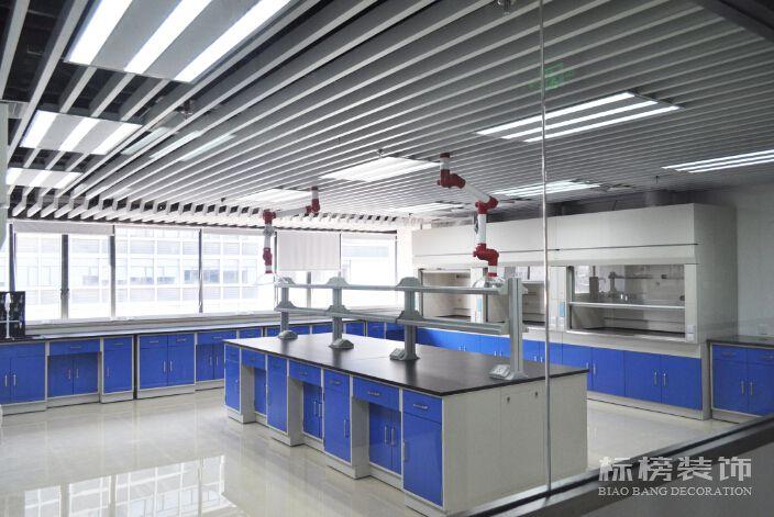 新华粤石化厂房和实验室装修1