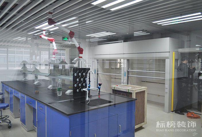 新华粤石化厂房和实验室装修2