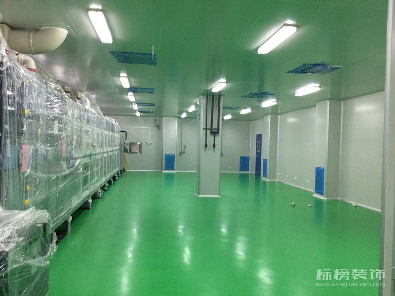 卡尔蔡司光电厂房装修1