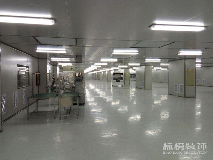 帝晶光电科技厂房装修2