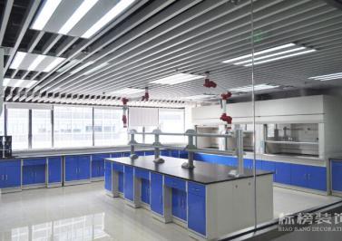 新华粤石化厂房和实验室装修