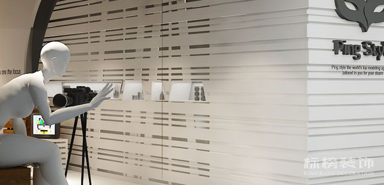 PING STYLE彩妆造型机构店面装修2