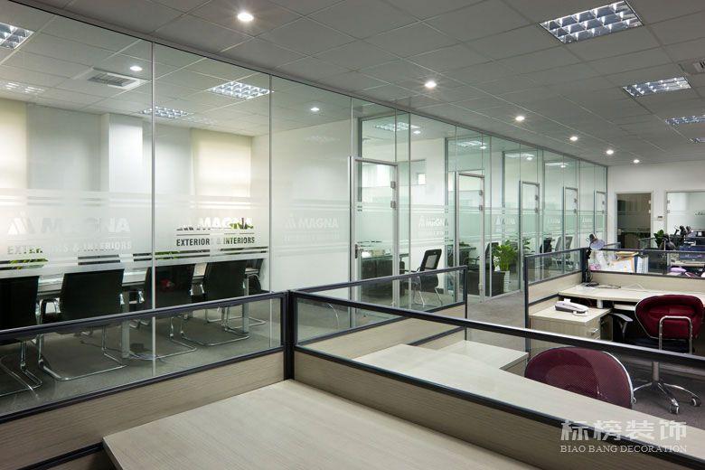 麦格纳工厂和办公室装修2