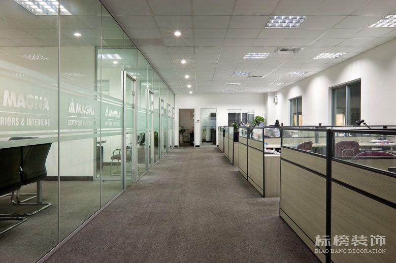 麦格纳工厂和办公室装修3