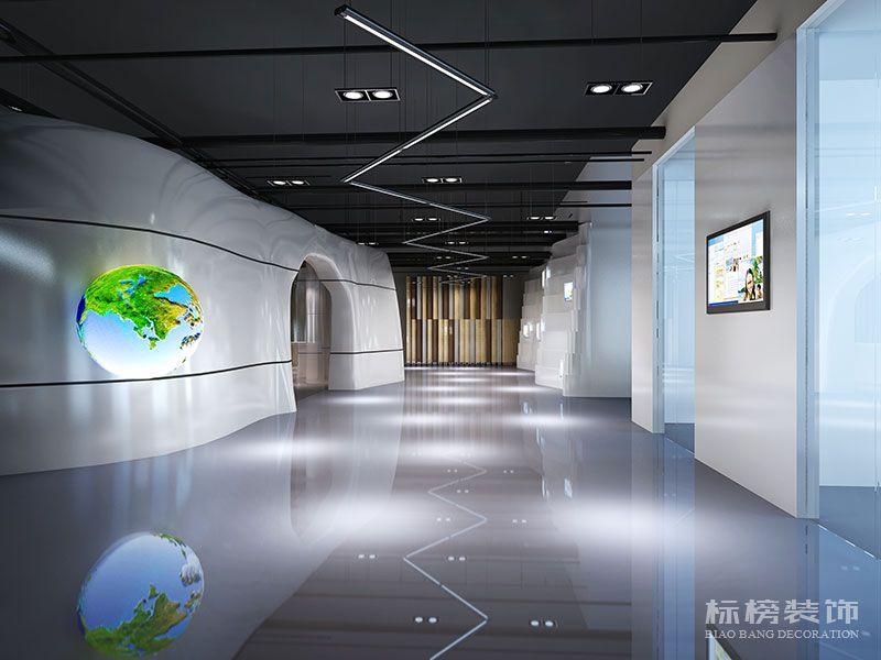 鹏骋公司展厅设计装修3