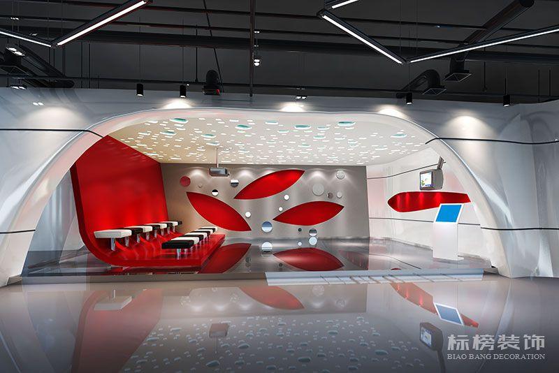 鹏骋公司展厅设计装修4