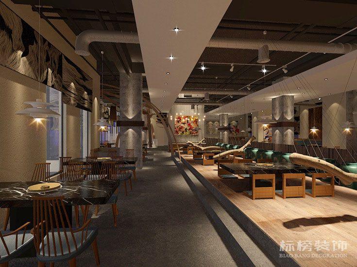 轩宇中式餐厅装修5