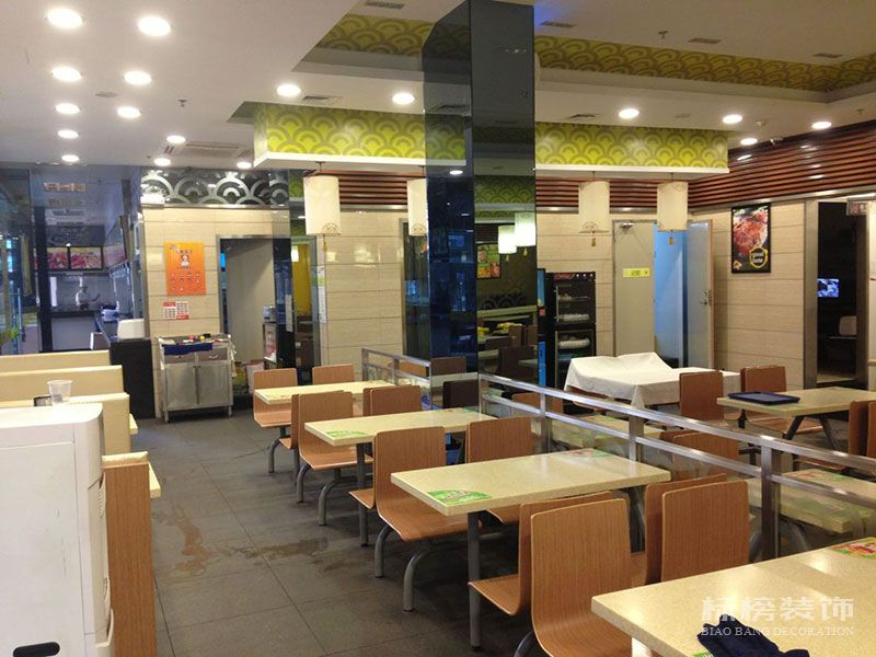 伟旺中式快餐厅装修2