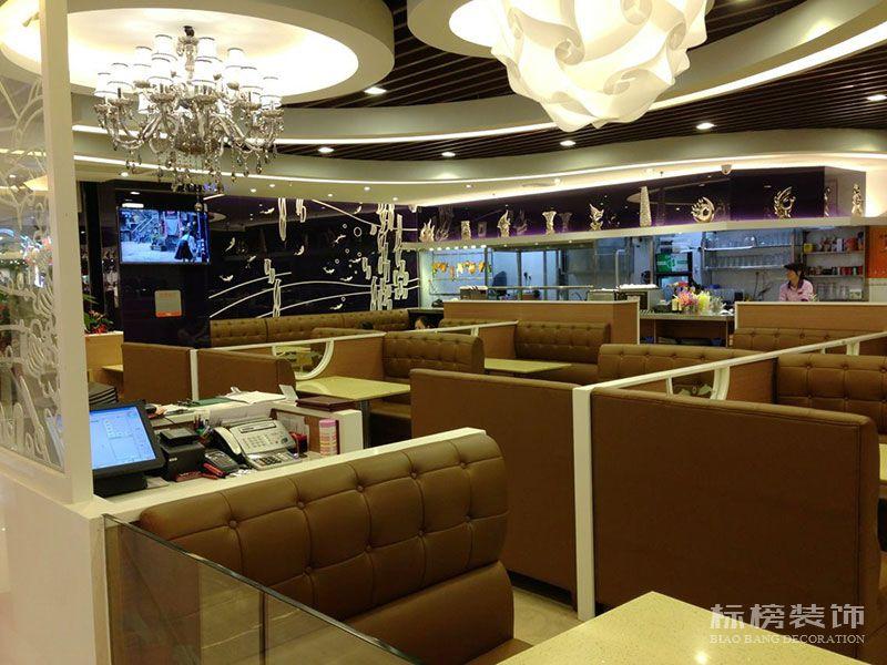 伟旺中式快餐厅装修3