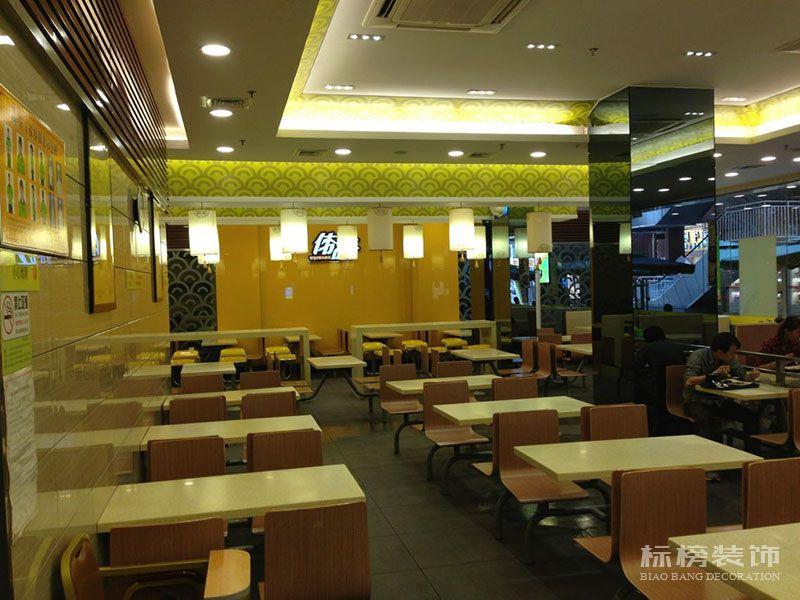 伟旺中式快餐厅装修4
