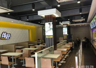 伟旺中式快餐厅装修