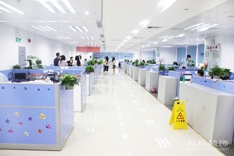 京东商城集团华南办公室装修2