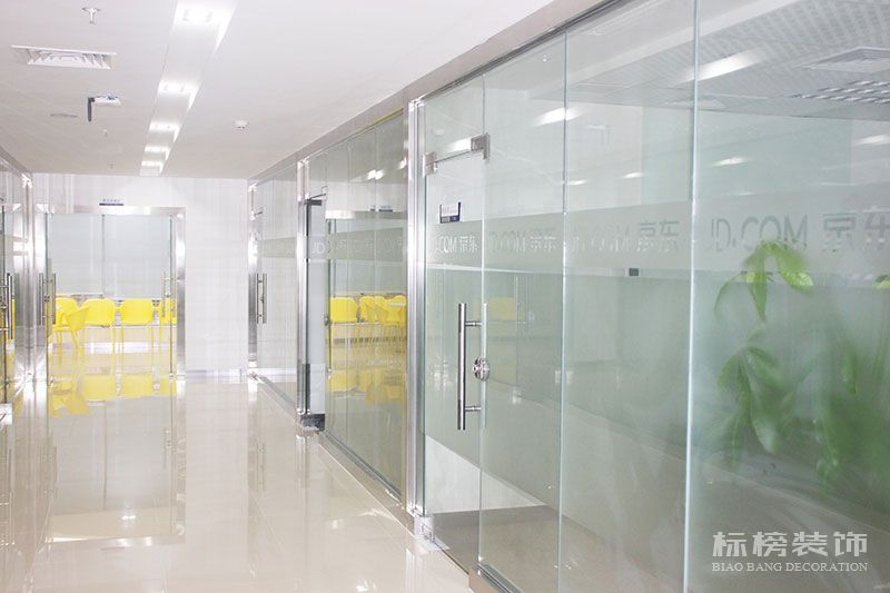 京东商城集团华南办公室装修5