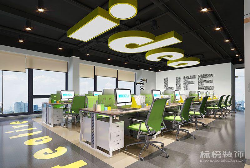卡优迪创意设计公司办公室设计装修2