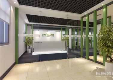 坂田-中广大厦-天工测控技术办公室装修设计
