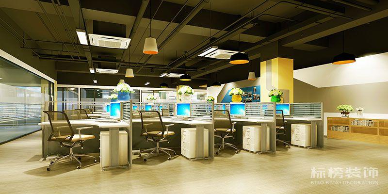 南山西丽-和顺达工业园-腾龙云海办公室装修3
