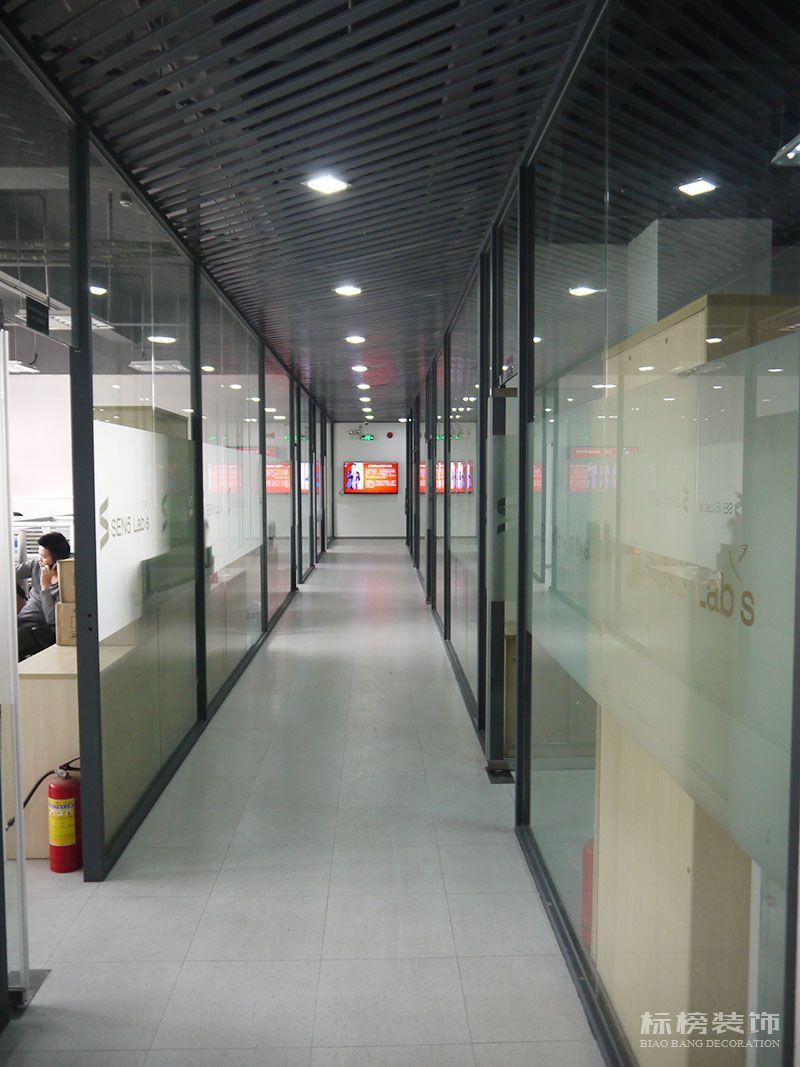 南山科技园-感臻科技办公室装修4
