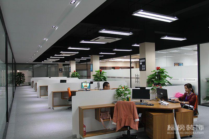 宝安-松岗-欧亚自动化机械办公室和厂房装修6