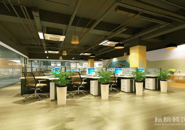 南山西丽-和顺达工业园-腾龙云海办公室装修